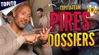 Top 10 des plus gros dossiers sur l'équipe Topito, sa tourne mal !!!