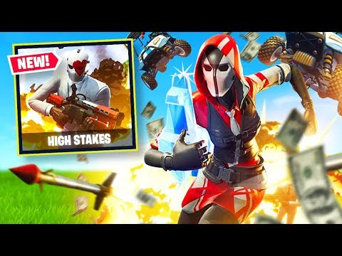 New High Stakes Mode Live In Fortnite Battle Royale