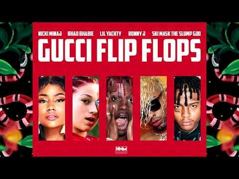 Nicki Minaj Bhad Bhabie Lil Yachty Ronny J Ski Mask The Slump God - Gucci Flip Flops MASHUP