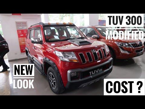 Mahindra Tuv 300 Best Modification | Mahindra Tuv 300 Accesories | Tuv 300 Like Hummer | Tuv 300
