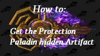 (Guide) Protection Paladin Hidden Artifact Appearence | Withered Scenario Guide