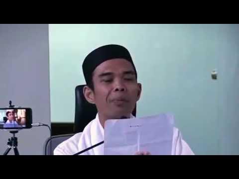 Do'a Nurbuat | Bid'ah Kah? | Ustadz Abdul Somad, Lc, MA