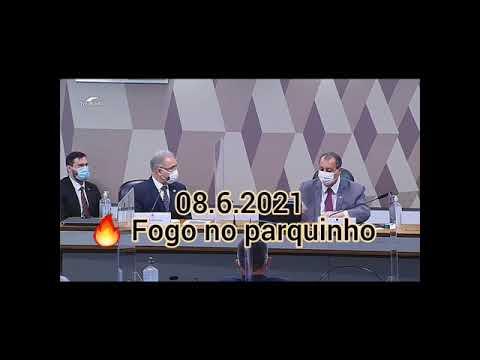 O CLIMA ESTÁ FERVENDO NA CPI                 olhocerto