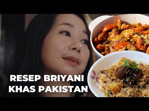 Nasi Briyani Nyonya Lie, resep dari Pakistan