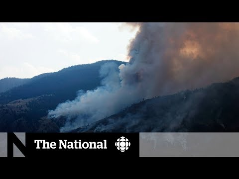 B.C. wildfires create poor air quality conditions