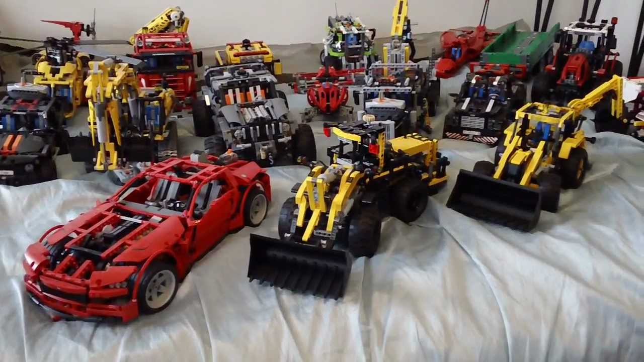 My Entire LEGO Technic Collection as of March 2013