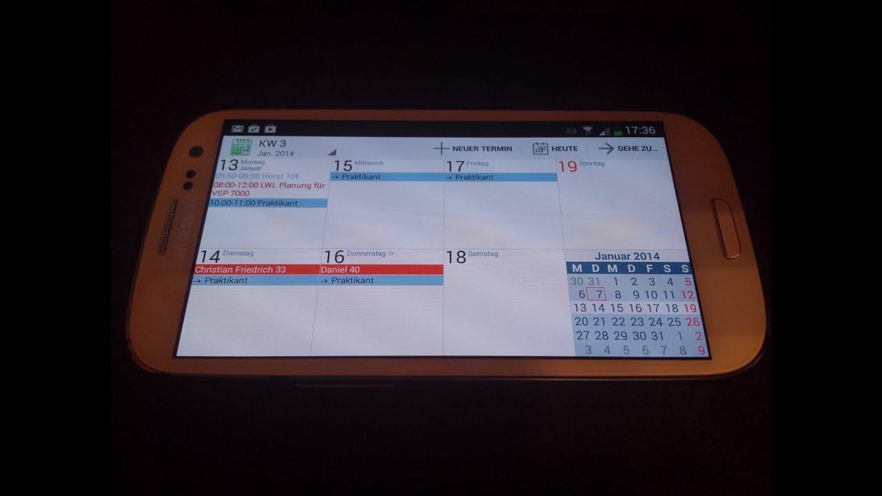 Acalendar Anleitung appvorstellung: acalendar die beste kalenderapp