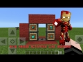 How to have Ironman's auto-equip armor machine in Minecraft PE