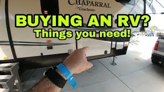 RV Must Have Supplies! For All RVers. Fifth Wheel storage