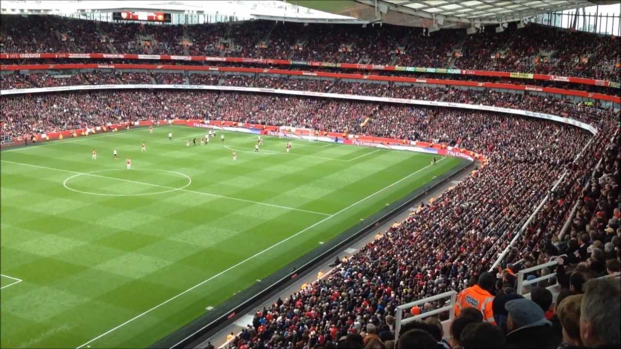 Arsenal Live Wallpaper Hd Arsenal Vs Manchester United Emirates Stadium 28 04 2013