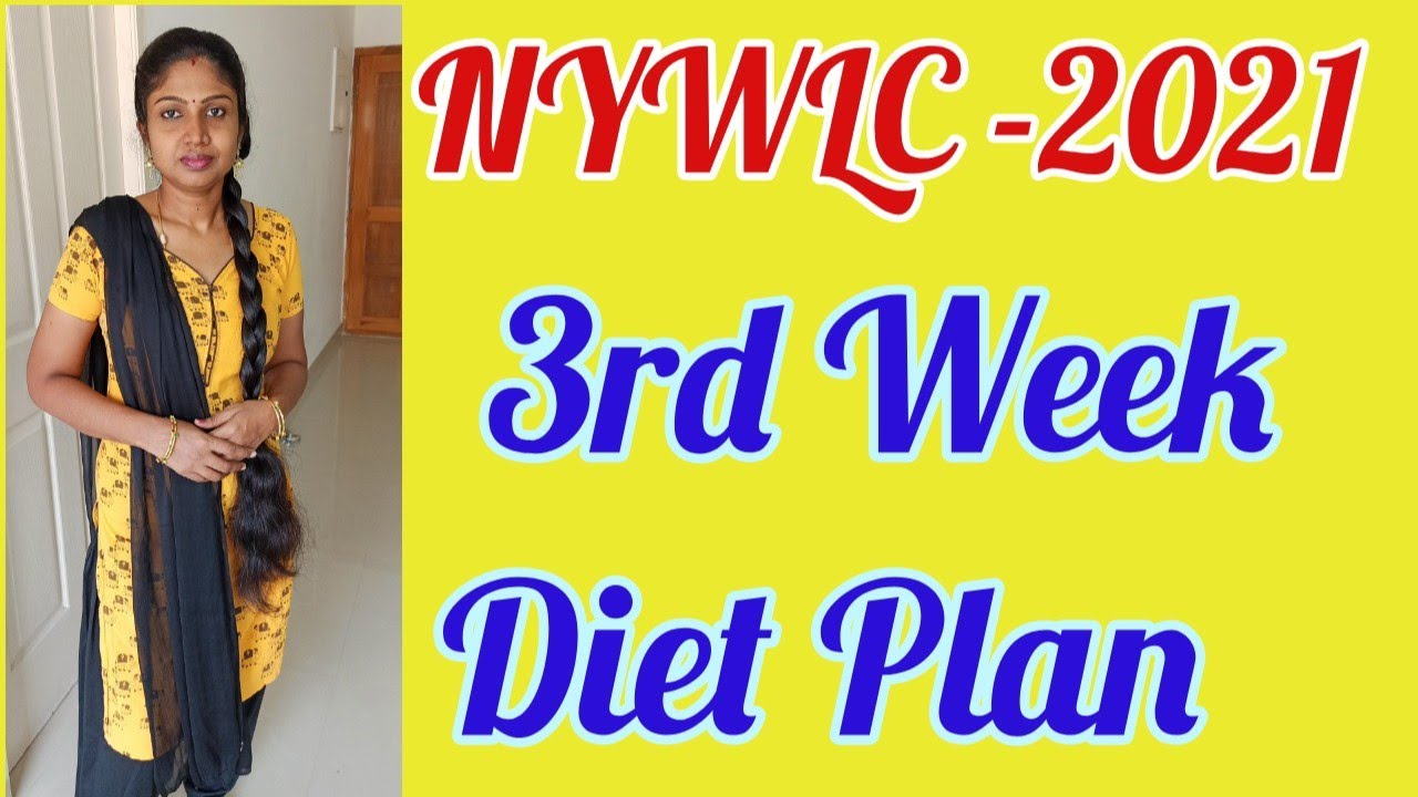 30 Days Weight Loss Challenge 3rd Week Diet Chart | How To Control Food Cravings While Dieting?