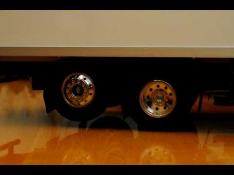 the operate of lift axle for tamiya 1 14 rc volvo fh16 6x2. Black Bedroom Furniture Sets. Home Design Ideas