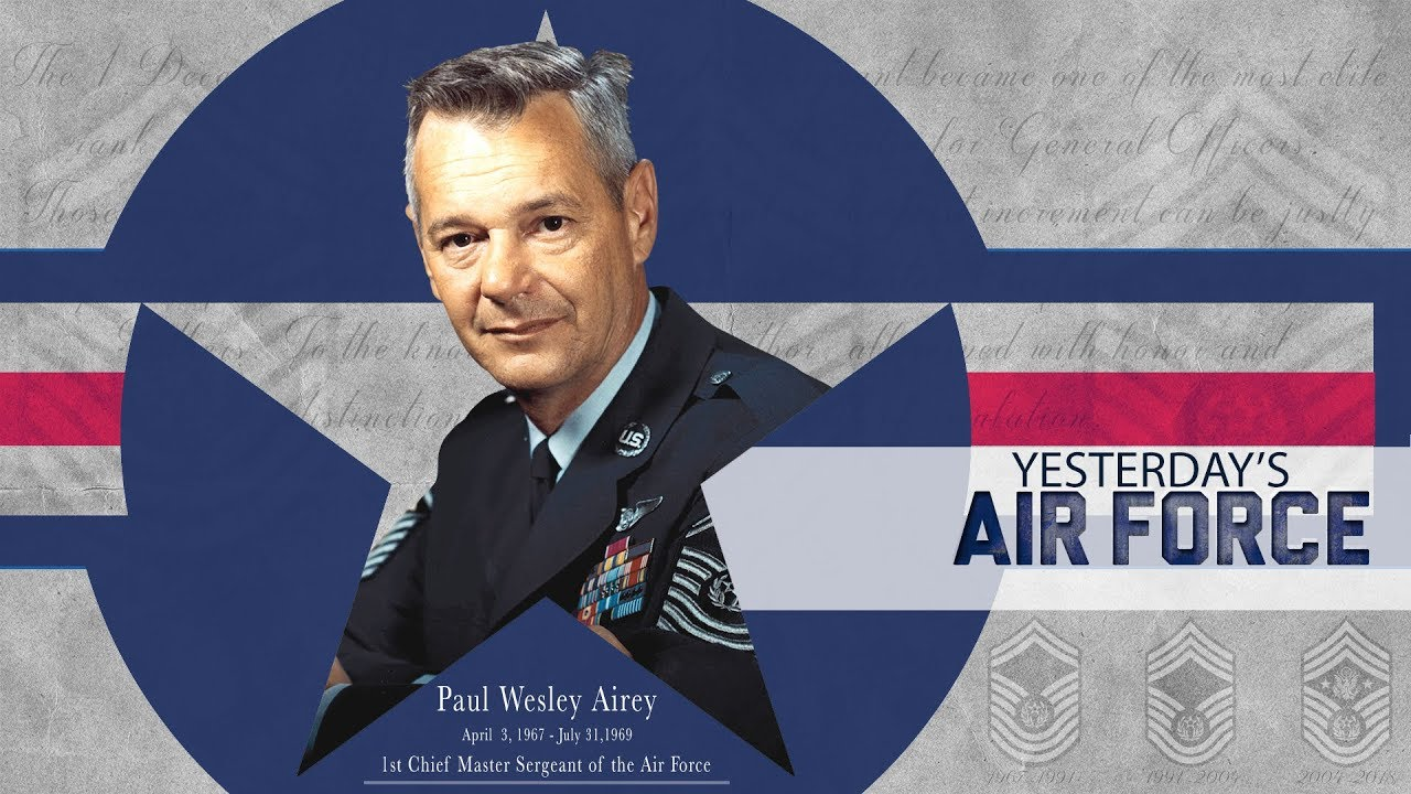 457c0ba4171 Yesterday s Air Force  Chief Master Sergeant of the Air Force - YouTube
