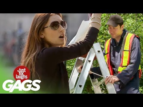 DANGEROUS Ladder Prank!