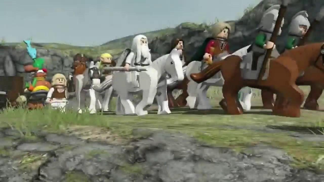 Lego Der Herr Der Ringe Launch Trailer Youtube