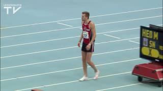 Mateusz Przybylko reichen 2,20 Meter zum Sieg