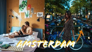 VISITING AMSTERDAM (a travel vlog.)