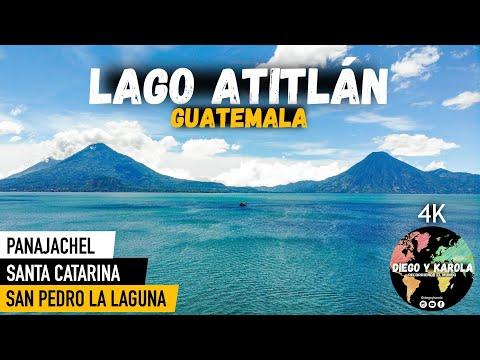 QUÉ HACER EN EL LAGO ATITLÁN?, GUATEMALA | 4K |