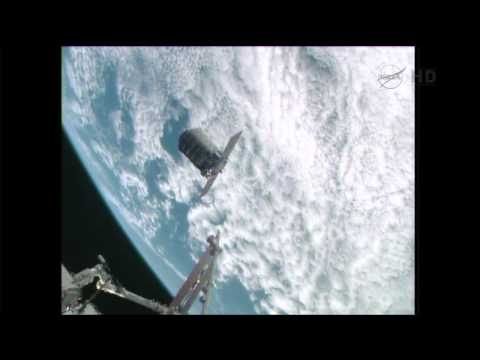 Cygnus Capture By ISS - September 29, 2013