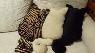 DIY: Декоративные подушки