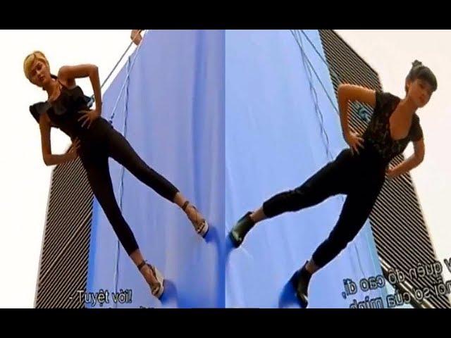 Maureen and Shikin Vertical Catwalk Challenge - Asia's Next Top Model Ep.12