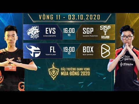 EVS không cửa bật trước SGP, FL thắng suýt sao BOX - Vòng 11 Ngày 1 - ĐTDV mùa Đông 2020