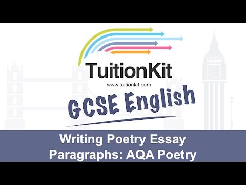 Writing Poetry Essay Paragraphs Poetry English Literature  Youtube Writing Poetry Essay Paragraphs Poetry English Literature
