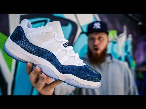 DON'T BUY THE JORDAN 11 LOW SNAKESKIN WITHOUT WATCHING THIS!!! (Early In Hand & On Feet Review)