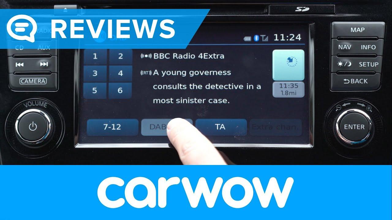 Nissan Qashqai 2013-2017 infotainment and interior review   Mat Watson  Reviews
