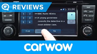 Nissan Qashqai 2013-2017 infotainment and interior review | Mat Watson Reviews