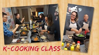 Learning how to make Korean Food with K Cooking Class   Seoul, South Korea