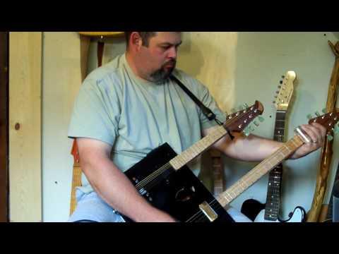 cigar box guitar # 260 by Back Porch Mojo