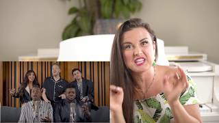 Vocal Coach Reacts to Pentatonix - Evolution of Ariana Grande