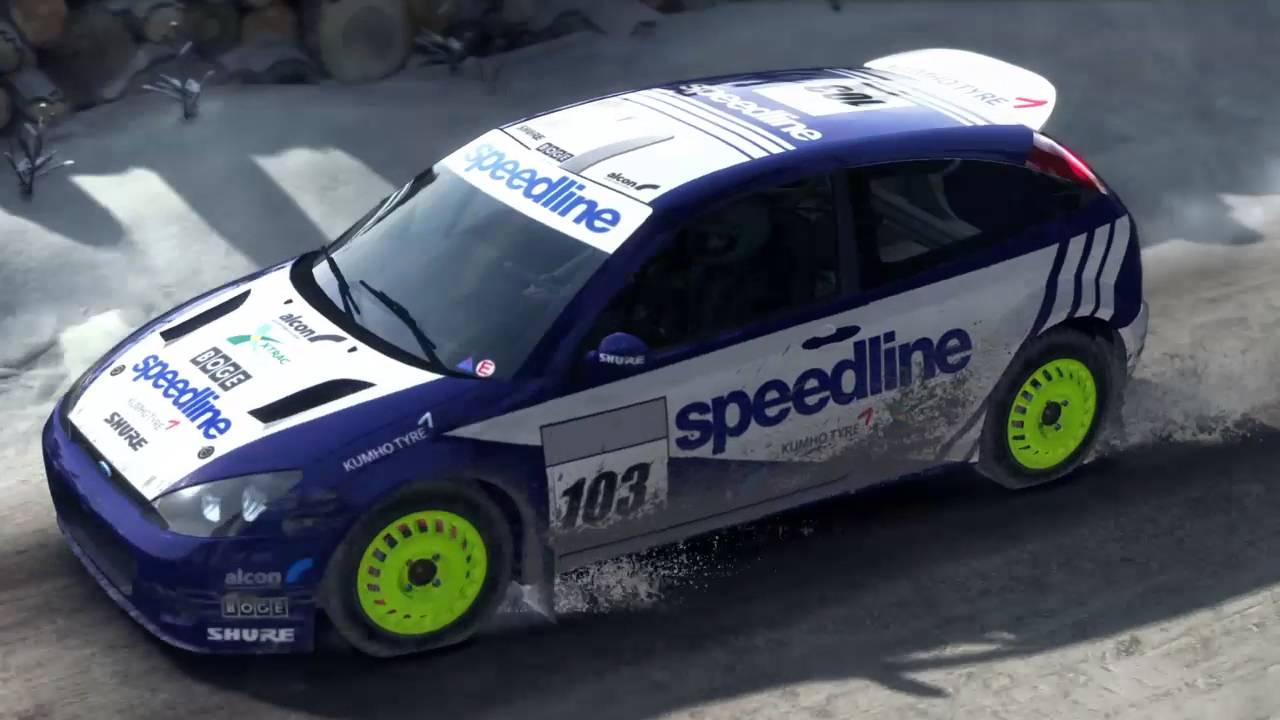 Dirt Rally Ps4 Ford Focus Rs Wrc 2001 Sweden Stor Jangen Sprint Reverse