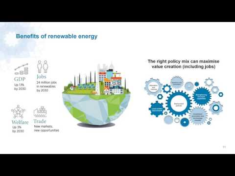 Online Press Conference: Renewable Energy & Jobs Annual Review 2016 Launch