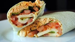 BUFFALO CHICKEN WRAPS | How To Make Chicken Wraps | SyS