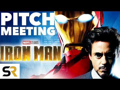 Iron Man Pitch Meeting