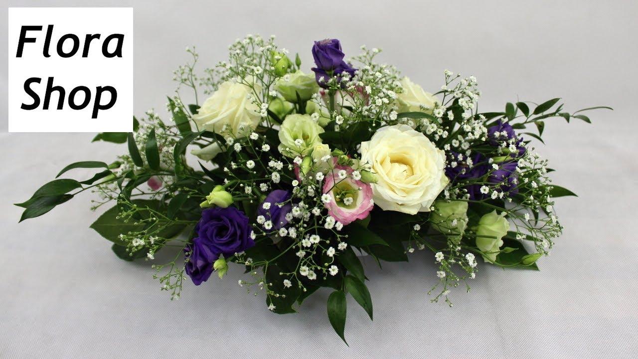 Kleine Tisch Blumengestecke mit Steckschaum selber machen, 3 Anleitungen + Ideen ❁ Flora-Shop