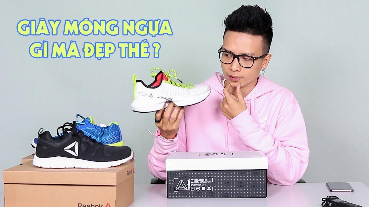 Mua giày Reebok giá chỉ tiền trăm & Review Reebok Sole Fury