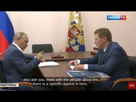 LIKE A BOSS Putin Warns Governor: Treat All Veterans Equally And With Respect!