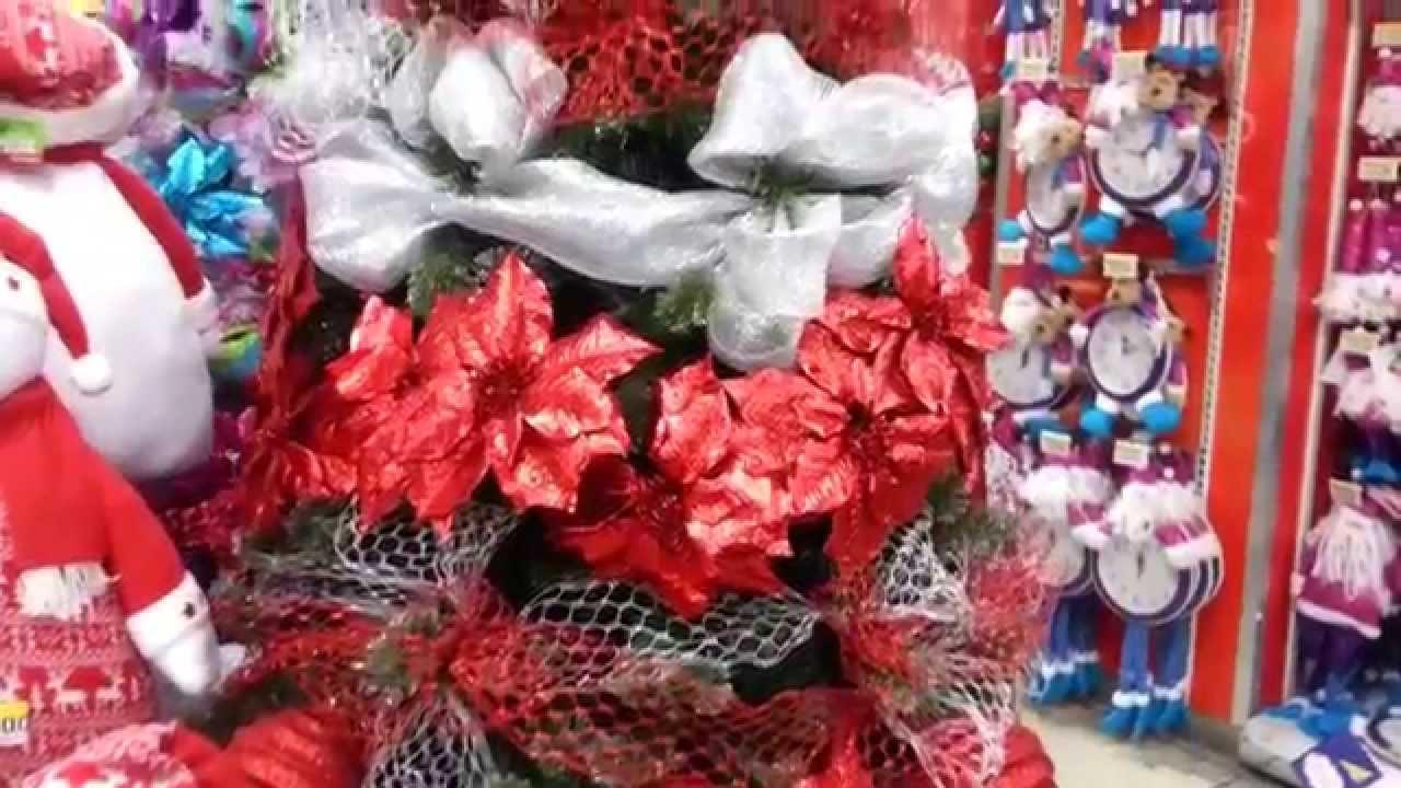 Decoracion arboles de navidad 2017 rojo y plata parte 19 - Arboles navidad decoracion ...