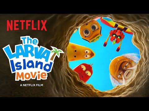 The Larva Island Movie Trailer �� Netflix Futures