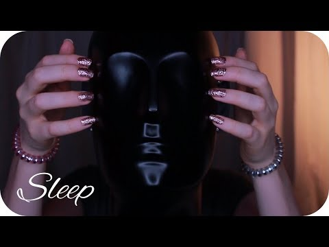 ASMR Binaural Head Tapping and Scratching 1 Hour // No Talking