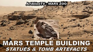 MARS TEMPLE BUILDING - Statues, Bell & Tomb Artefacts (Part 1 As seen on Ancient Aliens)