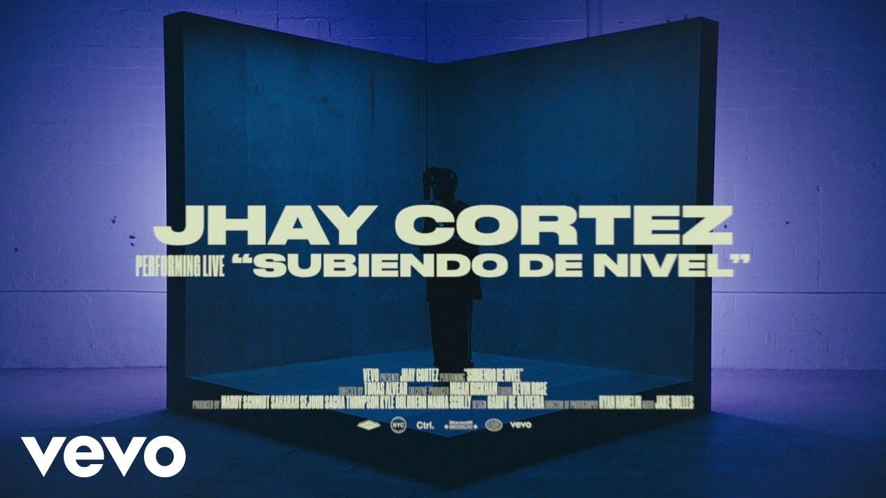Download Jhay Cortez - Subiendo De Nivel (Live Session) | Vevo Ctrl