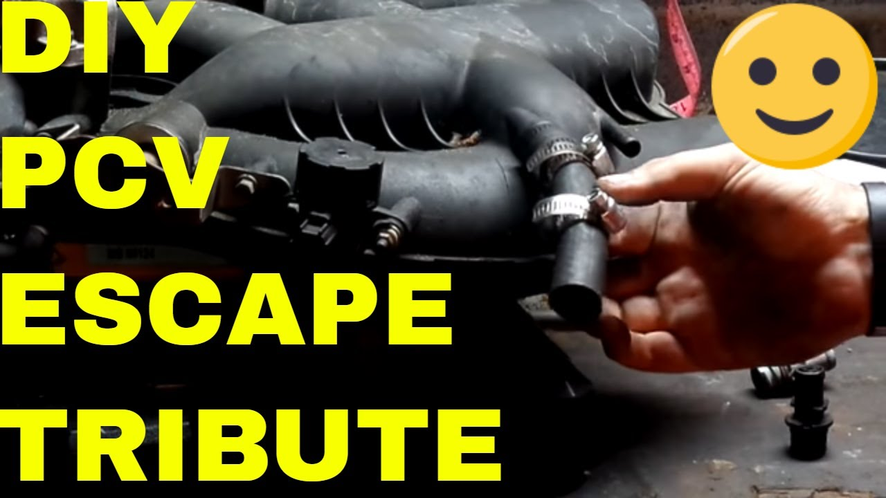 Ford Escape Pcv Location And Common Problems And Tips For Repair On A 3 0 V6 Engine Youtube