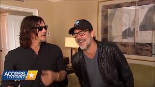 Jeffrey Dean Morgan, Andrew Lincoln & Norman Reedus - Funny Moments