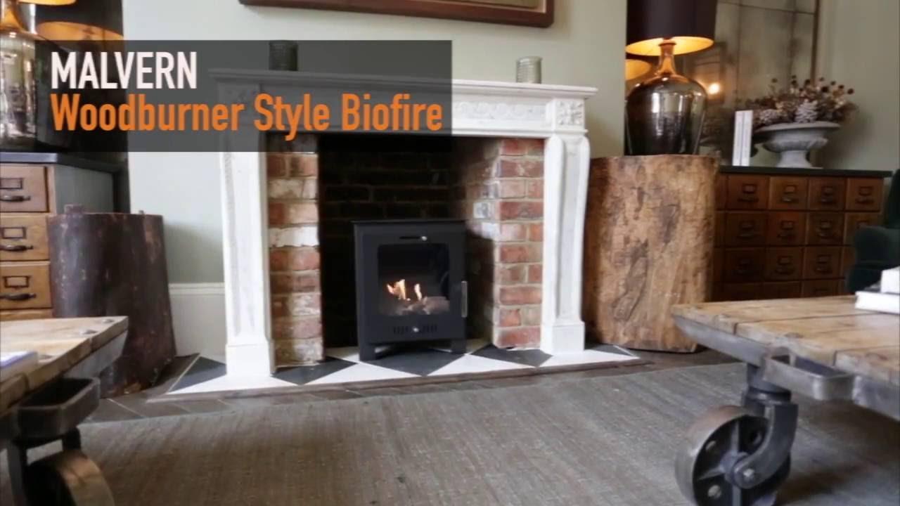 malvern bio ethanol fireplace youtube