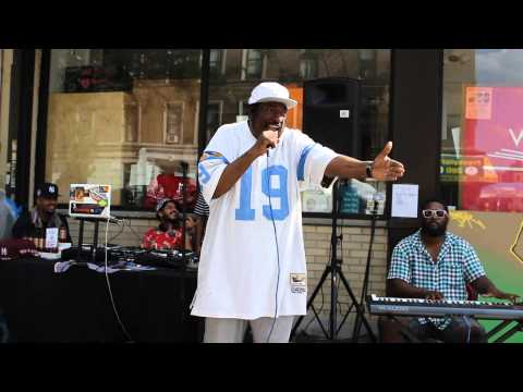 T La Rock - It's Yours live with Lexiglass at Word Up