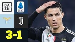 Tabellenspitze trotz CR7-Tor verpasst! Juve patzt gegen Lazio: Lazio - Juventus 3:1 | Serie A | DAZN